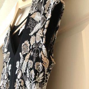 95a0e1ab3552 Anthropologie Dresses - Anthropologie Soiree midi dress in black motif